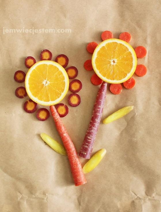 Marchew i pomarańcze
