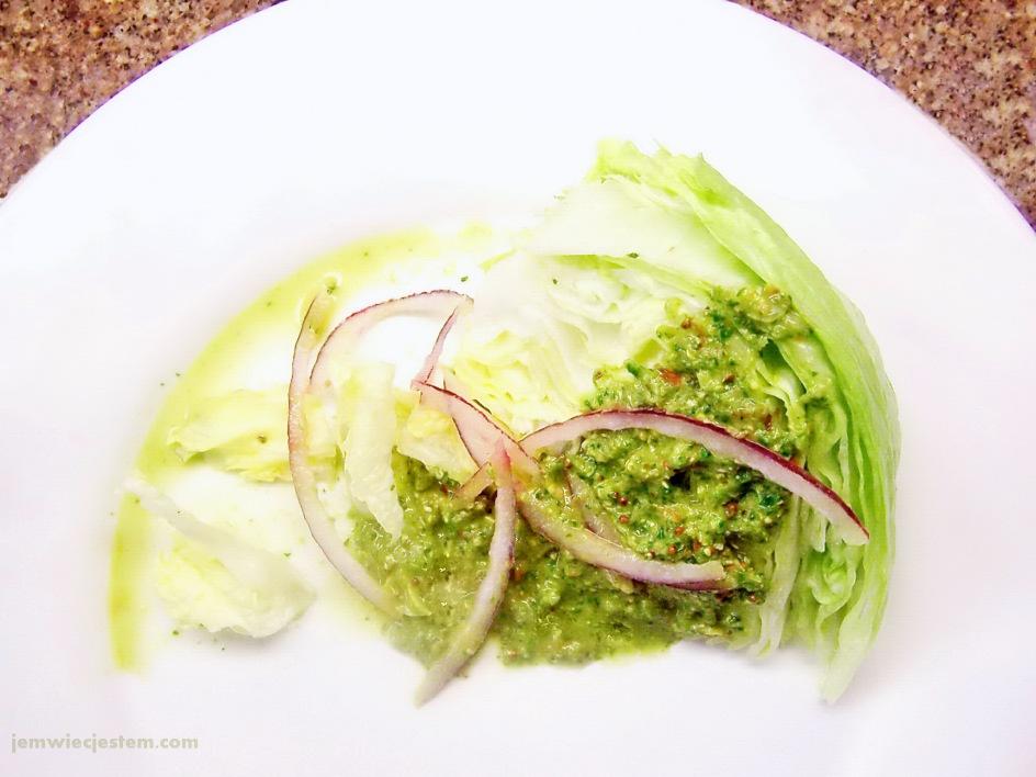 03 01 11 iceberg lettuce cilantro salad (5) JWJ