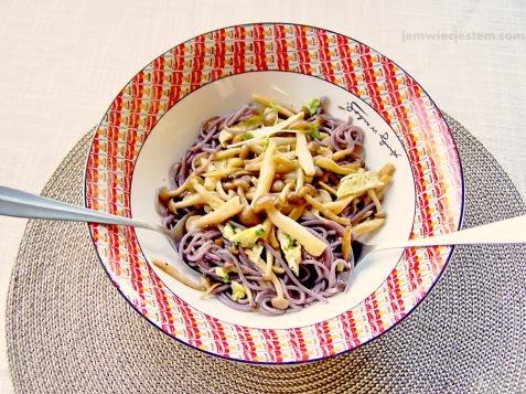04 16 13 shimeji mushroom rice pasta (1) JWJ