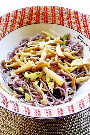 04 16 13 shimeji mushroom rice pasta (14) JWJ