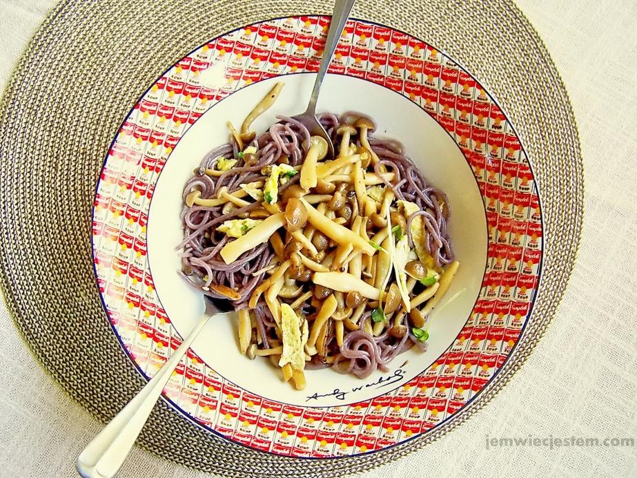 04 16 13 shimeji mushroom rice pasta (6) JWJ