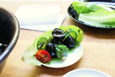 Przepiękne, czarne oliwki z Kalifornii
