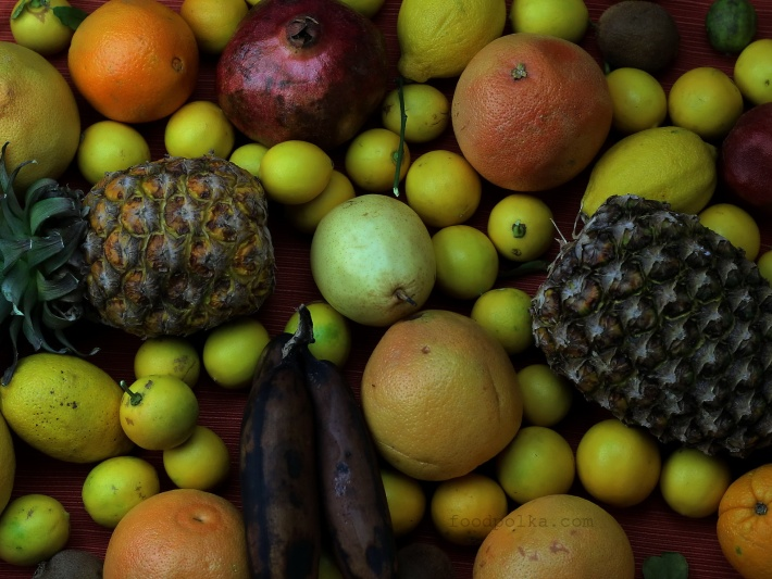 Moja prywatna kolekcja owoców