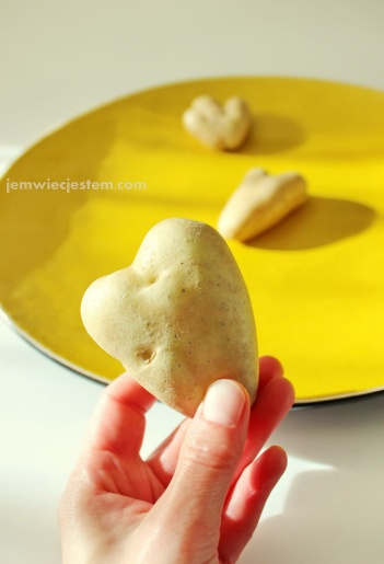 3 ziemniaki w jednem worku miały kształt serduszek! To chyba potrójne szczęście...