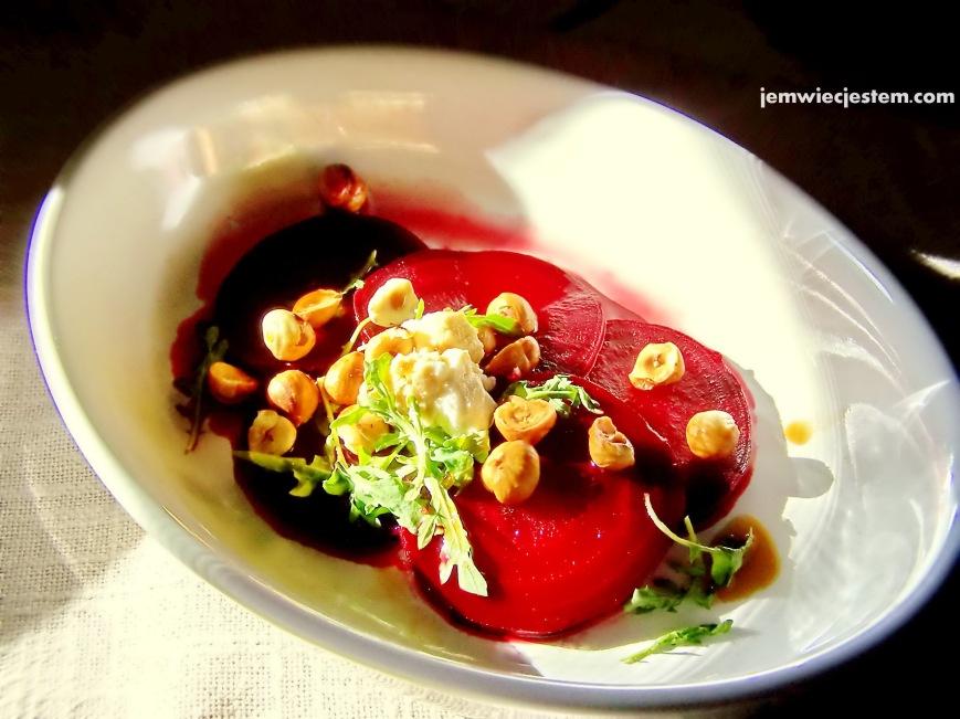 beet hazelnut arugula salad 2