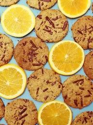 Kruche z pomarańczą