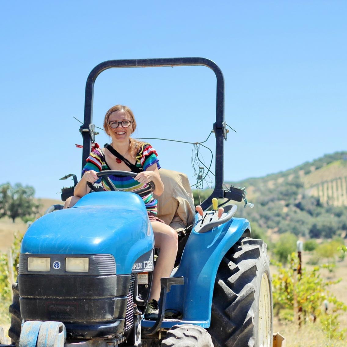 Kobiety na traktory