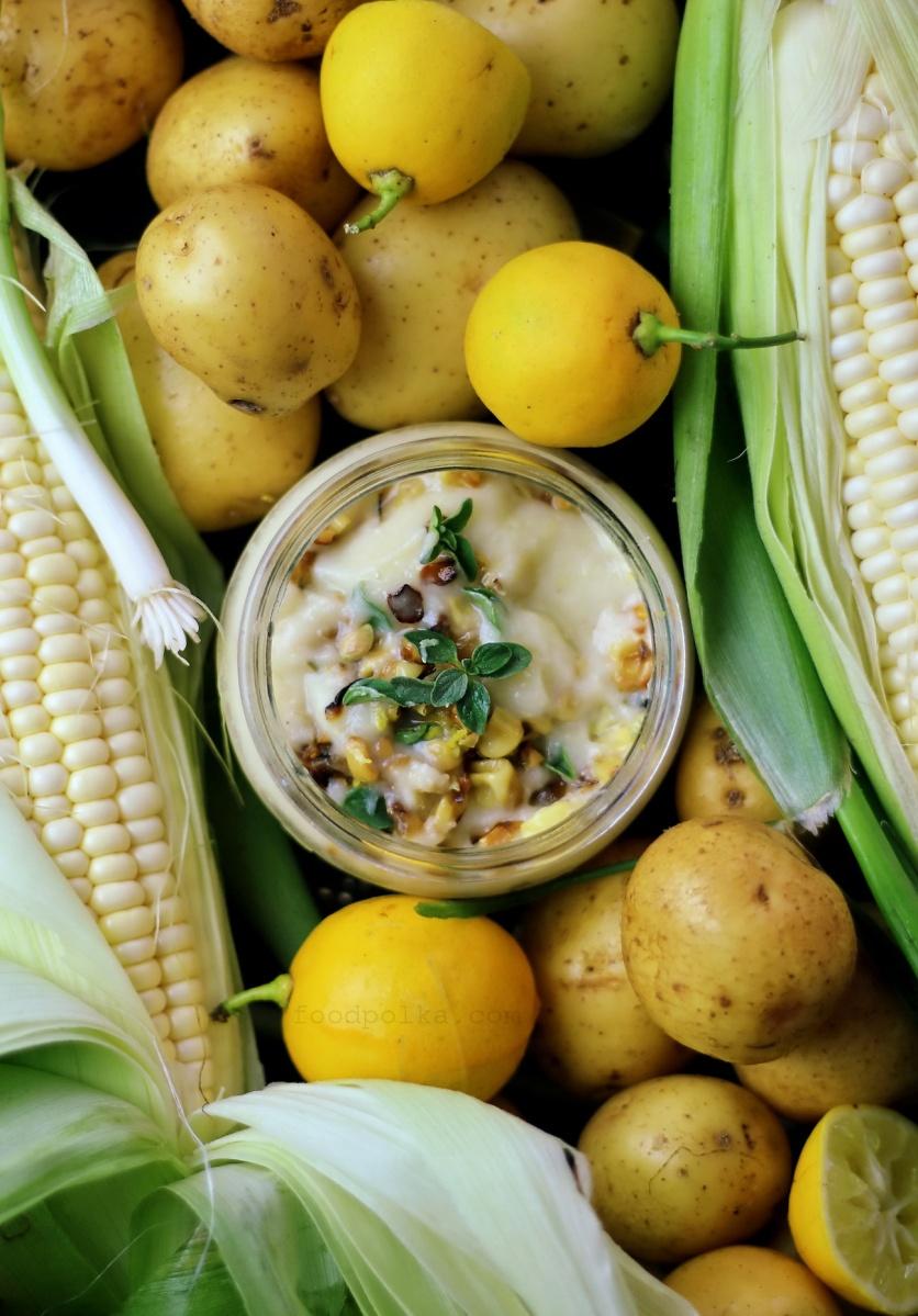 Wegańska zupa krem z kukurydzy nie tylko nakarmi  i rozgrzeje, ale także pobudzi zmysły